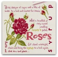 Roses Syrup