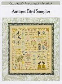 Antique Bird Sampler